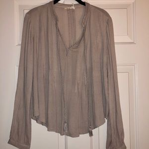 Anthro Blouse. Like New!